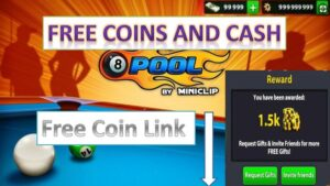 8 ball pool hack – Free Coins and Cash (New 2018 trick)