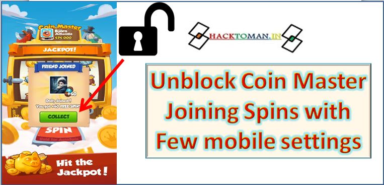 Unblock coin master