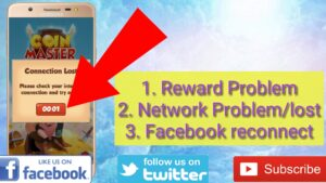 Coin Master Network Problem   Cards   FB Request