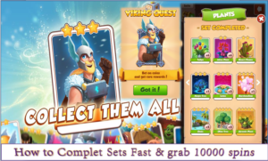 How to complete Card set fast in coin master